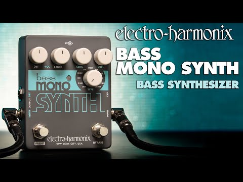 Turn Your Bass Guitar Into A Monosynth