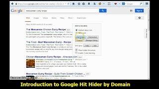 Google Hit Hider 1-Minute Intro