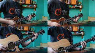 Czadoman- Ruda tańczy jak szalona (Ukulele cover)