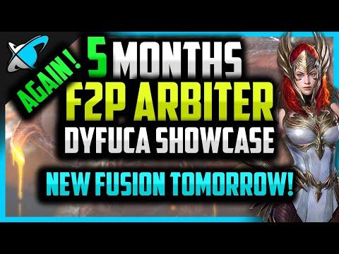 F2P ARBITER IN 5 MONTHS... AGAIN !!!! | Dyfuca Account Showcase | RAID: Shadow Legends