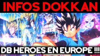 INFOS DOKKAN : Dragon Ball Heroes va sortir en Europe !