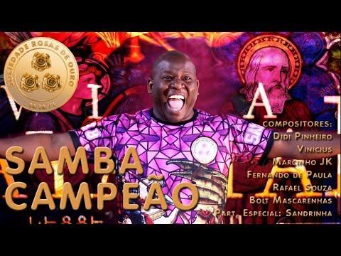 Samba Enredo 2019 de Rosas De Ouro Letra y Video