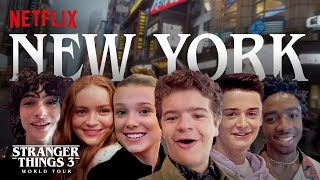 Stranger Things 3 World Tour   New York City   Episode 1