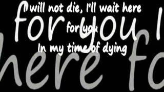 Three Days Grace - Time Of Dying - Lyrics