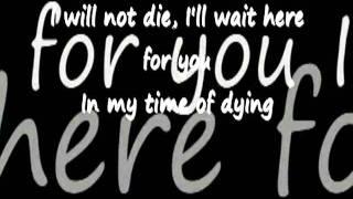 Three Days Grace - Time Of Dying - Lyrics