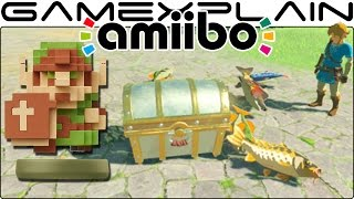 Something's Fishy about how the Zelda 30th Anniv. amiibo work in Breath of the Wild