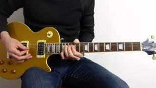 Guns N' Roses Wild Horses Cover - Tokyo 92 - Guitar Lesson