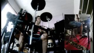 Kim Ribeiro - DVBBS & Borgeous - Tsunami (Drum cover)