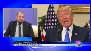 Entrevista (1ra. Parte) con el abogado Pablo Hurtado sobre el Plan Migratorio de Donald Trump