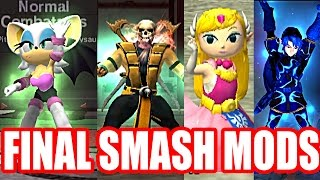 UNIQUE and CREATIVE Final Smash Mods in Super Smash Bros (Smash Bros Mods)