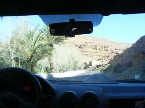 Morocco, Crossing High Atlas between Midelt and Errachidia