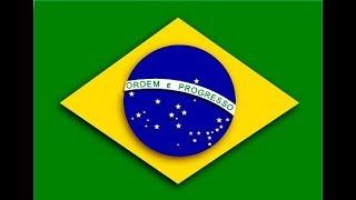Toque de mensagem de celular da torcida do Brasil