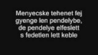 Kárpátia - Nyakas a parasztgazda (szöveg)