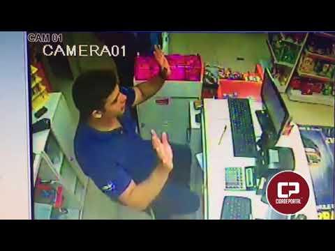 Ação de assaltantes no Posto Garcia em Goioerê - Cidade Portal