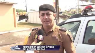 Foragido da justiça é preso pela polícia