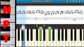 How to play Honeymoon Avenue - Ariana Grande - with Sheet Music on screen