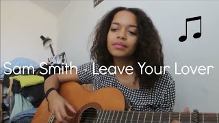 Sam Smith - Leave your lover (cover by Malina Johnsen)