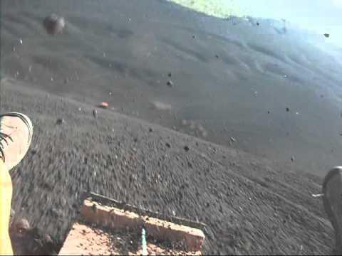Volcano Boarding 1st Person View