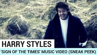Harry Styles 'Sign of the Times' Music Video! (SNEAK PEEK)