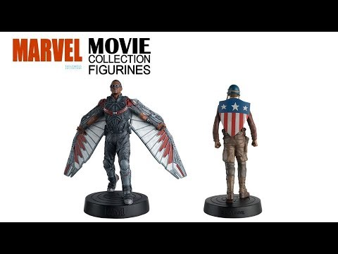 Marvel Movie Collection Figurines – 44 & 45 – Falcon and Captain America