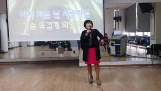 김선애강사(원곡: 조항조~~거짓말)