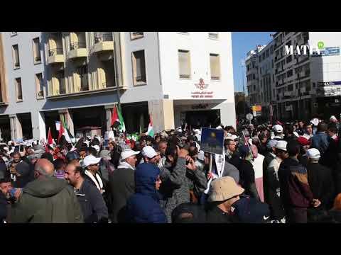 Statut d'Al Qods : Forte mobilisation à Rabat pour dénoncer la décision américaine
