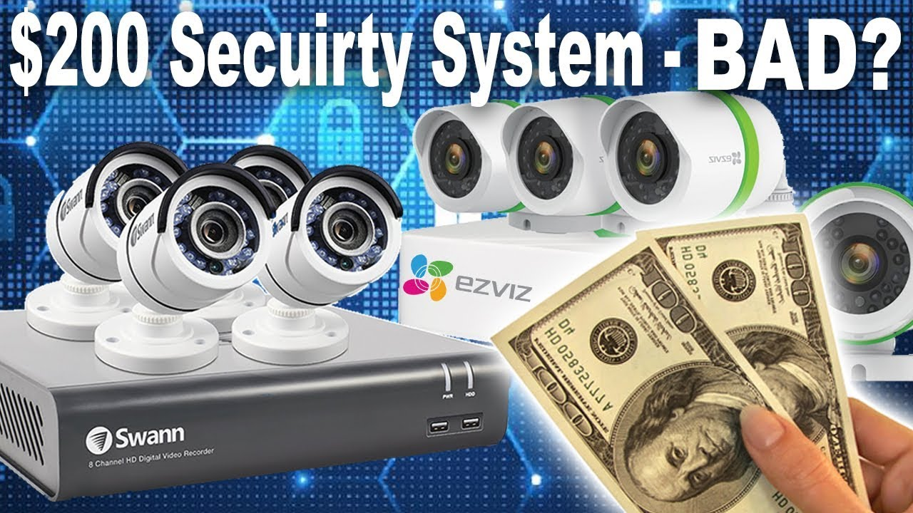 Home Security Package System Wells Branch TX