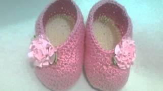 Ateliê Crochês DA Andrea  sapatinhos e sandalinhas  de croche