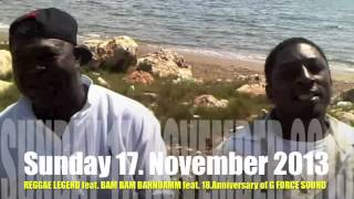 CHAKA DEMUS & PLIERS LIVE ON STAGE @ BAM BAM BAHNDAMM