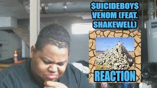 $UICIDEBOY$ VENOM (FEAT. SHAKEWELL) Reaction