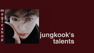 jungkook's talents subliminal (lofi kpop version) ☆゚.*・。゚