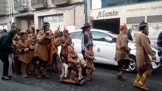 Antroido 2017, desfile Monforte de Lemos