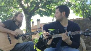 Stevie Wonder - Superstition - Acoustic Percussive Fingerstyle Guitar Cover By Milo Feat. Mike Dawes