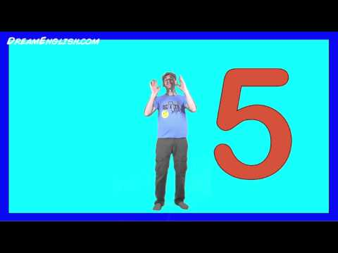 Counting 1 to 5 Song - YouTube