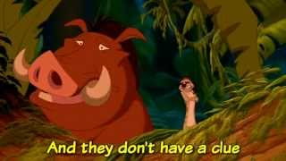 The Lion King - Can You Feel the Love Tonight (Sing-Along Lyrics)