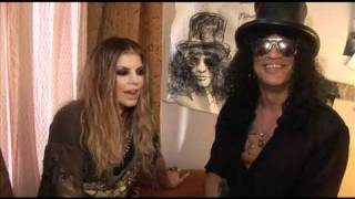 "Slash/Fergie Music Video ""Beautiful Dangerous"" - Behind the Scenes of Making The Music Video"