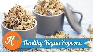 Resep Healthy Vegan Popcorn