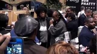 NAMM 2013 Stevie Wonder Plays Black Orpheus on Harmonica Live (emotional must see!)
