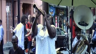 "Doreen Ketchens  ""Amazing Grace"" - French Quarter New Orleans street performers"