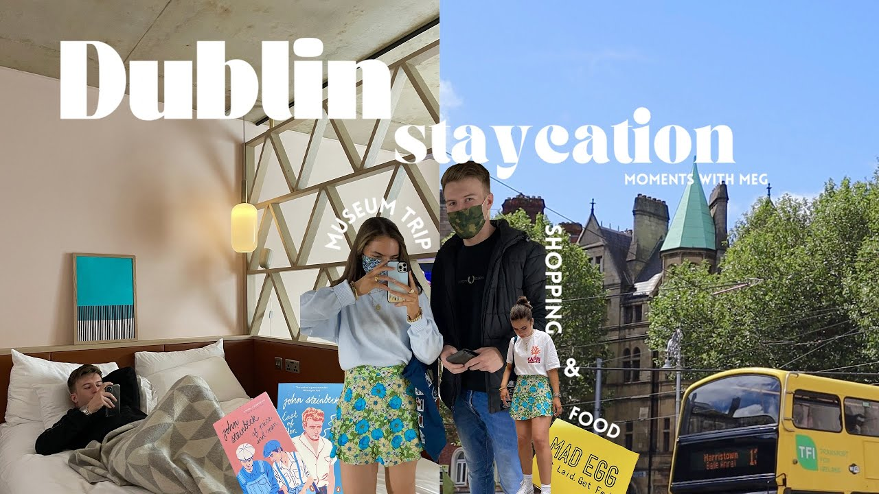 Dublin Staycation ☘️ – Museum Trips, Shopping, Food & more (with Eoin) a Travel Vlog