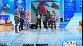 Animal X ft J.Yolo la ACCES DIRECT 14 Ianuarie 2011 / partea 1