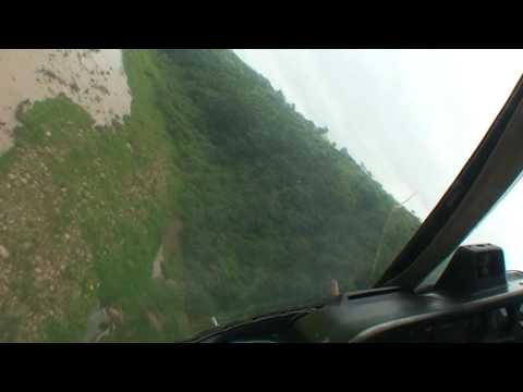 Extremal low level flight AS-350