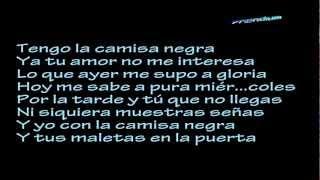 La Camisa Negra - Juanes - lirycs