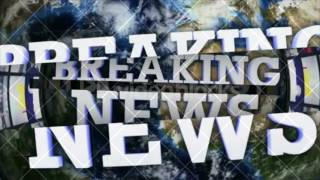 BREAKING NEWS Text Animation and OPEN BARS, BACKGROUND, Rendering, Loop, 4k