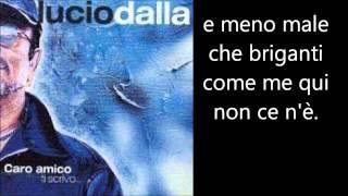 Lucio Dalla - Piazza Grande Testo Lyrics