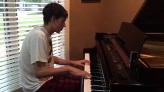 Piano Cover of SECRETS by ONE REPUBLIC Paul Raner 8/6/2015