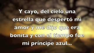 Principe Azul   Annett Moreno Letra) (
