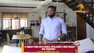 "INSIDE KUNLE AFOLAYAN'S MULTI MILLION NAIRA HOME... HE CALLS IT ""IRE MANSION"""
