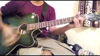 Naina- (khoobsurat) easy guitar chords