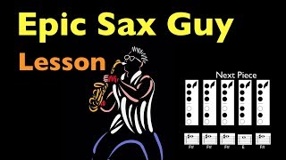 How to Play Epic Sax Guy on Sax - Alto Sax *Read Description to see a correction